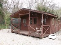 Rustic Log-Style Cabin by the River near the North Coast - Self Catering Holiday Let - Dog Friendly
