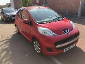 Peugeot 107 urban 1.0 petrol 5 door 2011