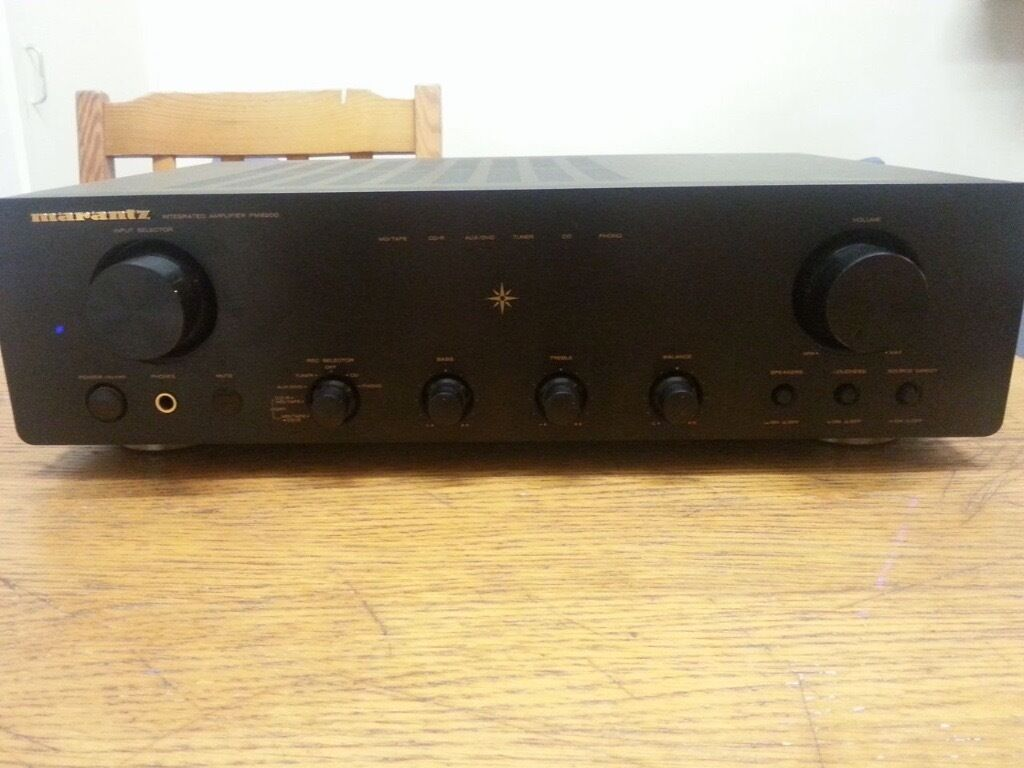 Marantz Pm8200 Pm 8200 Hi Fi Amplifier Amp In Hackney London How To Wire Pioneer