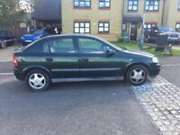 Vauxhall astra CD 1.6 for sale, MOT, service history, drives well.