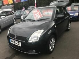 \\\\\ 06 SUZUKI SWIFT GLX ,, JET BLACK ,, IST CLASS CONDITION ,, ONLY 1699 \\\\