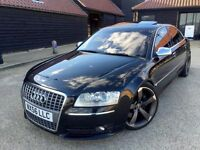 AUDI S8 5.2 V10 Lambo Engine *Upgraded - Stunning - Loaded Extras* VGC, Bargain Sports Luxury *