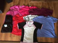Scrub tops and pants for sale 10 peiece set