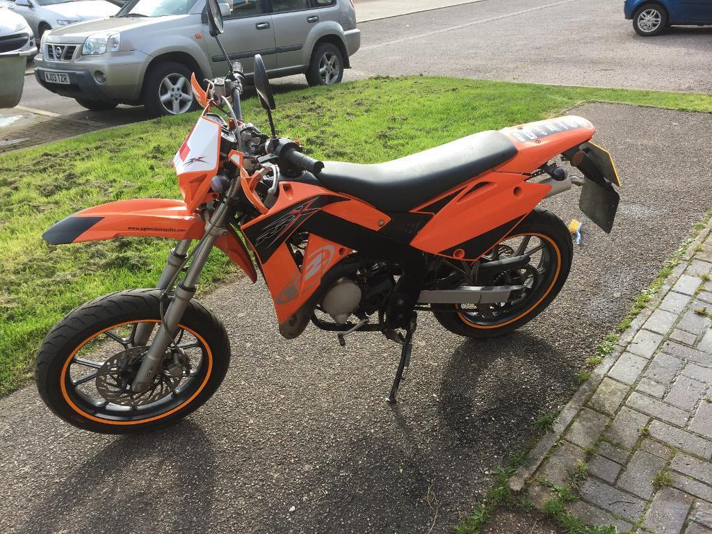 Rieju Rrx 50cc Motorbike In Seaton Devon Gumtree