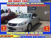 2008 Honda Accord EX-L V-6 Sedan * APPLY TODAY, DRIVE TOMORROW!