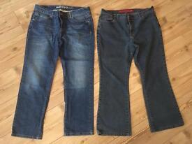 Woman's size 16 short jeans