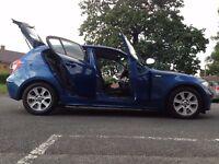 BMW 1 SERIES 116i ES 1596 CC 5 DOOR PERKING SENSOR SERVICE HISTORY GENUINE MILES A/C HPI CLEAR