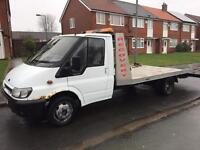 2000 ford transit recovery truck