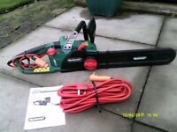 QUALCAST ELECTRIC CHAINSAW