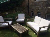 Garden furniture - selling due to house move.