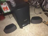 Bose Speaker and DVD Player/System