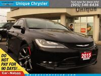 2015 Chrysler 200 S | LEATHER | PANOROOF | CAMERA | HEATED SEATS