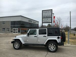 2012 Jeep WRANGLER UNLIMITED Sahara ~ 4X4 ~Remote Start ~Heated