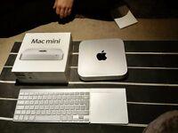 Mac Mini i 7 A1347. 2.3ghz quad core Intel, 16gb ram upgraded, 1TB 5400-rpm drive.OSx Sierra. 2012