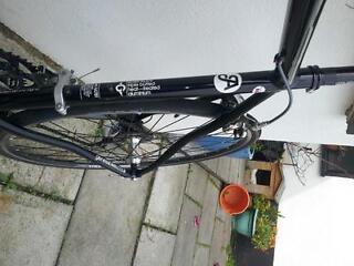 56cm road bike , aluminium frame, carbon fork