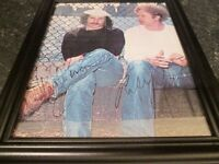 SIMON AND GARFUNKEL HAND SIGNED AUTOGRAPHS WITH COA-MUSIC