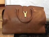YSL large cabas chyc - chestnut brown