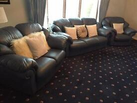 Luxury leather suite 3, 2 & 1