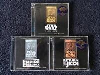 Star Wars soundtrack CD's