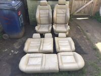 Audi S3 heated and electric seats