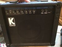 KUSTOM KLA20 LEAD AMPLIFIER - 40 watt max Practice Amp