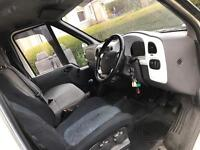 Ford transit 2.0fwd motd Jan 2018 crew van day van race day