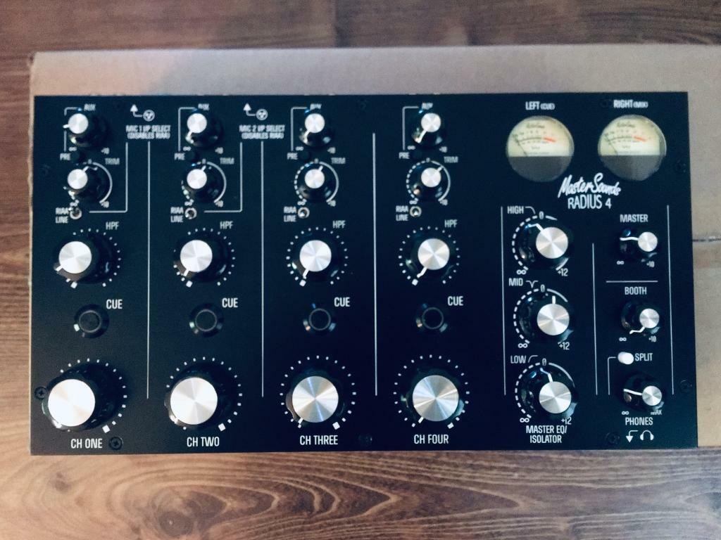 Mastersound Radius 4 Rotary DJ mixer premium version | in Cuddington,  Cheshire | Gumtree