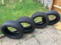 4 Summer Tyres, 195/55 R16