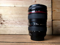 Canon L Series 24-105 IS - excellent condition