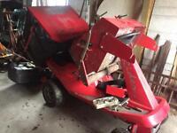 Countax Rider Petrol Ride on Lawnmower - Spares or Repair