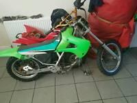 Kawasaki kx 80 1998