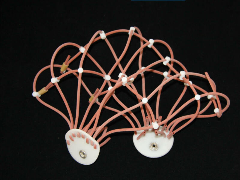 ECG cap,10-20 international standards leads,for CONTEC KT88 EEG Mahine,KT88 2400