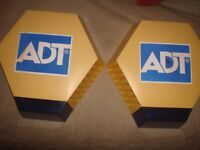 ADT BELL BOXES/NON FLASHING TYPE BARGAIN £30 KEEP THE BURGLARS AWAY