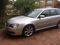 2006 (56) Subaru Legacy Type R 3.0 Spec B Auto Estate, Silver, Excellent condition