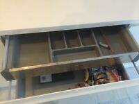 Magnet White Kitchen Units, Worktops and Appliances