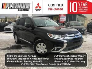 2016 Mitsubishi Outlander GT S-AWC | LOW KM, Fully Loaded, DVD P