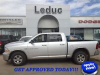 2012 RAM 1500 CREW 4X4 - ONLY 58400 KMS! - GET APPROVED TODAY!