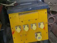 5 KVA Single phase Site Transformer.