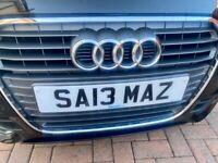 "Personalised Number Plate SA13MAZ ""SAIMA"""