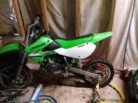 Kx65 dirt bike