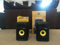 KRK Rokit 5 Active Monitors (Pair) with Boxes/Power