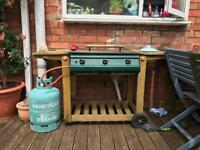 Gas BBQ barbecue grill £30 or swap for charcoal bbq