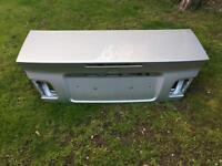 BMW e46 cabriolet boot lid