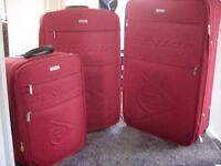 Suitcases x 3 includes Xlarge, large/medium and carry on