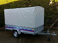 SINGLE AXLE TRAILER 750 kg CAMPING CAR TRAILER 8.6FT X 4.4FT