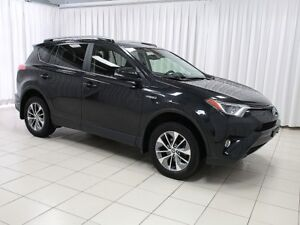 2017 Toyota RAV4 LE+ HYBRID SUV w/ LANE DEPARTURE WARNING, BACKU