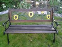 🌻 garden bench