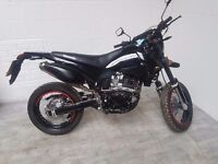 lexmoto adrenaline 125 2016 very low miles