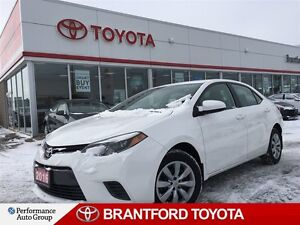 2016 Toyota Corolla LE, Carproof Clean, Balance of Factory Warra