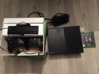 Xbox One 500GB with Kinect, 2 controllers, and Halo Master Chief Collection